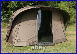 Fox Retreat+ 2 Man Bivvy Dome Ripstop Ventec incl Inner Capsule Dome CUM206 NEW