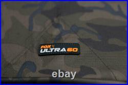 Fox Ultra 60 Brolly System Ventec Ripstop CAMO CUM222 FISHING BROLLY STSYEM
