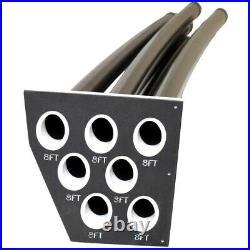 G3 Boat Fishing Rod Holder 73580560 7 Tube 52 3/4 Inch Black White