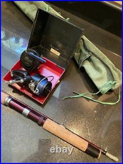 GARCIA CONOLON 2510C FISHING ROD 7 Ft ORIGINAL CLOTH HOLDER-NEW AND UNUSED