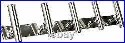 Heavy Duty 5 Tube 316 Stainless Steel Fishing Rod Holder Can Be Adjusted US SHIP