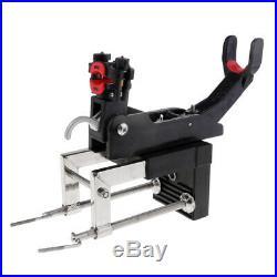 """45mm Nylon Fishing Rod Holder for Boat Kayak Yacht 1/"""" Rail Mount Black"""