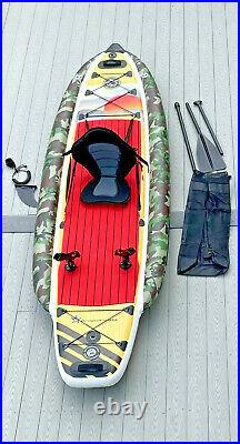 ISUP 11' for Fishing Includes Seat + 2x Fishing Rod Holders