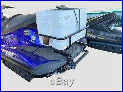 Jet Ski Fishing/Cooler 4 Rod Holder Rack Model Z