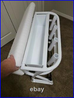 Leaning Post For Center Console Fishing Boat Rod Holders