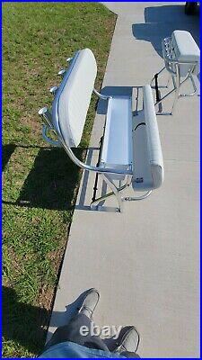 Leaning post New 36 Center Console Fishing Boat Rod Holders Marine Cup Holders
