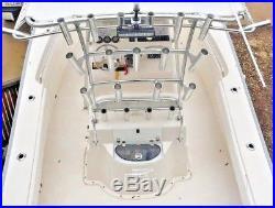 Lot 6 TACO METALS F31-2501 BXY ALUMINUM WELD ON FISHING BOAT MARINE ROD HOLDER