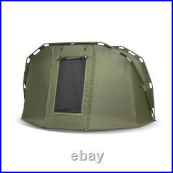 Lucx Bivvy 1 2 Mann Fishing Tent Carp Dome Caracal