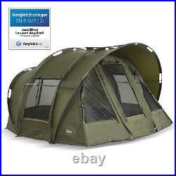 Lucx Bivvy Fishing Tent Carp Tent 2 3 One Carp Dome Leopard