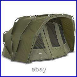 Lucx Bivvy + Winterskin 2 3 Mann Carp Tent + Cover Carp Dome Tent Tiger