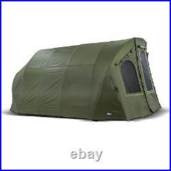 Lucx Bivvy + Winterskin Fishing Tent + Cover 2 4 6 Mann Carp Tent Bigfoot