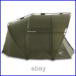 Lucx Bivvy + Winterskin Leopard 2 Mann Fishing Tent + Cover Carp Tent Carp