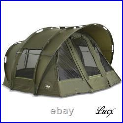 Lucx Carp Tent Bivvy 1, 2, 3 Mann Fishing Leopard Carp Dome Camping