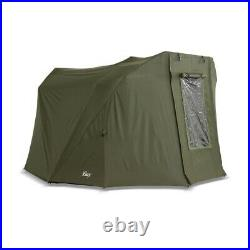 Lucx Carp Tent + Cover Fishing Tent Bivvy + Winterskin Coon 1, 2 Mann Coon