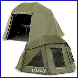 Lucx Set Umbrella Tent + Cover Fishing Tent Brolly + Winterskin New