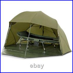 Lucx Shelter + Overwrap Umbrella Tent + Winterskin Fishing Brolly + Cover