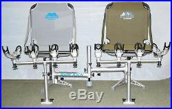 MILLENNIUM D-200 SIDEKICK with 2 B100GY GREY BOAT SEATS AND 2 R100 ROD HOLDERS