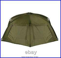 NEW 2021 Trakker Tempest Brolly 100 New Version With Rear Vents MODEL- 202245