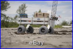 NEW Big Kahuna Beach & Fishing Wagon-UV Deck-No Rust-Lightweight-Made In USA