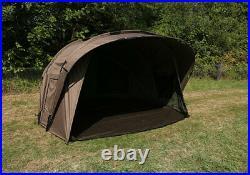 New Fox Retreat+ 2 Man Dome Ripstop Ventec 2 Person Bivvy CUM202 Carp Fishing