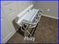 New Wide Leaning Post For Center Console Fishing Boat Rod Holders
