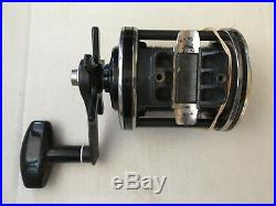 Newell fishing reel 338-5. 40 weight line with rod holder. Immaculate