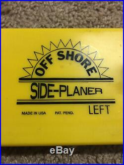 OFF SHORE Side Planer Trolling Board Equipment Eagle Claw Rod Holders Jet Divers