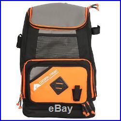 Ozark Trail Fishing Tackle Backpack Fish Storage Bag Box Gear and Rod Holder New