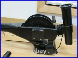 Pair Cannon Uni-Troll Manual Downrigger with pole holders