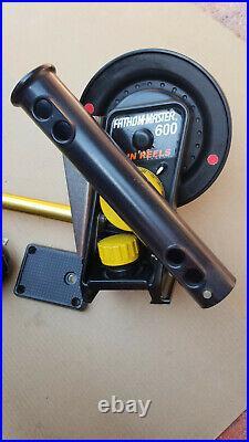 Penn Fathom Master 600 Downrigger Down Rigger w Rod Holder Plate Weight Clip 48
