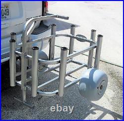 Plattinum, Fishing Cart Beach Cart Wheeleez Slides Into Receiver Arm