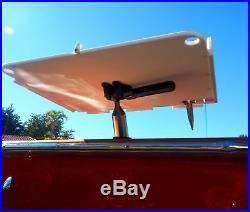 Premium Boat Bar plus Bait Table Combo