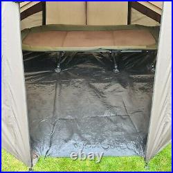 Quest Compact MK6 Carp Fishing Bivvy 1-2 Man Overnight Shelter Tackle Brolly