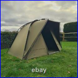Quest Defier MK2 1 Man Bivvy Carp Fishing Overnight Shelter Tackle Brolly System