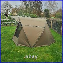 Quest MK3 2 Man Bivvy Carp Fishing Overnight Shelter Tackle 1 Brolly System Pram