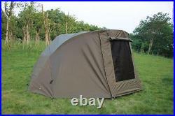 Quest MK3 2 Man Bivvy & Overwrap Carp Fishing Shelter Tackle 1 Brolly Wrap