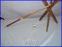 Rare Antique Fishing Rod Holder Folding Tripod