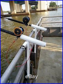 Reel Safe Head Boat Rod Holder charter boat rod holder outrodder outrigger