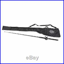 Rod And Reel Case 7 foot 6 inch Fishing Pole Holder Bag Carrier Storage With Strap