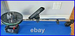 SCOTTY MANUAL DOWNRIGGER 28 With Rod Holder & Swivel Mounting Bracket with Line