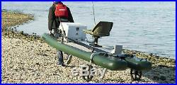 SEA EAGLE SUPCat10 PRO SWVL SEAT 2 SCOTTY ROD HOLDERS 2 GEAR HEADS CATWHEELS