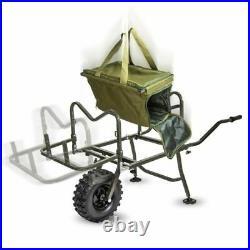 Saber Terrain Wheel Barrow Porter Trolley, Luggage Transport For Carp Fishing