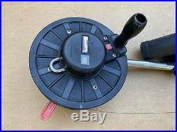 Scotty 30 Pole Manual Downrigger withRod Holder
