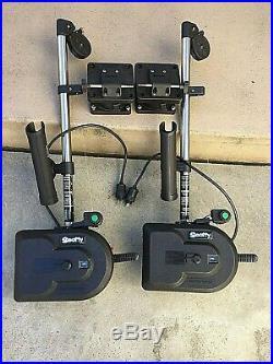Scotty Downrigger Depthpower 1101 30 withRod Holder/Swivel Base/New Line (x2)