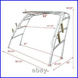 Scout Aluminum Boat Wakeboard Tower Frame With Fishing Rod Holders