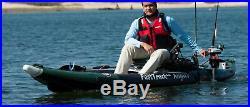 Sea Eagle 385fta Swivel Seat Fishing Rig Fast Track Inflat. Kayak 6 Rod Holders