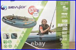 Sevylor 6-Person Fish Hunter Boat with Berkley Rod Holders