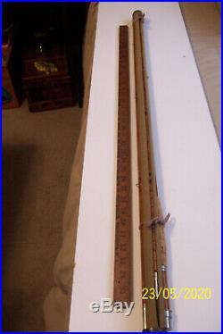 Split Bamboo 9' Optumus Trade Mark Reg. 4 Pcs On Cloth Holder