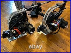 TWO BIG JON ELECTRIC DOWNRIGGERS with DUAL ROD HOLDERS REBUILT