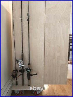 Tackle Cabinet Rod Rack